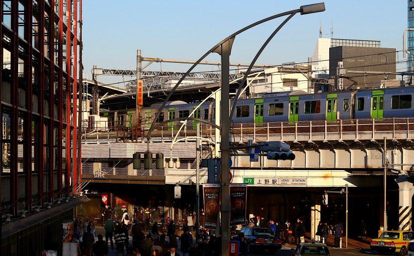 小津安二郎の散歩道:上野